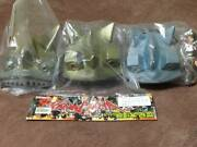 Iron Power Soft Vinyl All 3 Types Initial 1st Stage Tv Version Giant Robo Marm