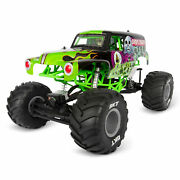 Axial 1/10 Smt10 Grave Digger 4 Wheel Drive Monster Truck Brushed Ready To Run