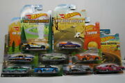 Lot Of 9 Hot Wheels Hw Road Trippin Cars Inc. Rampage And03949 Merc Openers Pls Rd