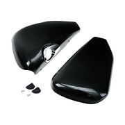 Left/right Battery Side Covers Fit For Harley Sportster Xl883 1200 48 72 14-21