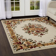 Floral Area Rug Floral 8x10 Clearance For Living Room Large Modern Reduced Price