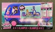 L.o.l. Suprise Outrageous Millennial Girls O.m.g. 4-in-1 Glamper Large Play Set