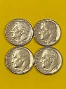 Dime Roosevelt 1978d To 1981d Circ New Free Shipping
