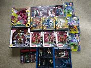 Alien And Predator Action Figure Lot...big Mixed Lot Of Loose And Carded Figures