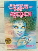 Crypt Of Medea Rare Role Playing Game Apple Ii Wizardry Sir Tech 1983