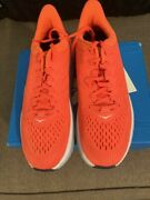 Hoka One One Clifton 7 Hot Coral/white Hcwh Womenand039s Running Shoes Size 9