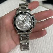 7034 Chronograph Stainless Steel Automatic Menand039s Watch