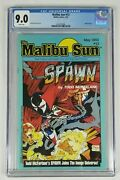 Malibu Sun 13 Cgc 9.0 White Pages 1st Appearance Spawn Hot And Rare. See Ad Stats