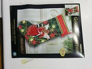 Dimensions Gold Collection Kit - Christmas Angel Stocking Name
