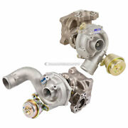 For Audi A6 S4 Allroad Borgwarner Pair Turbo Kit W/ Turbocharger Gaskets Csw