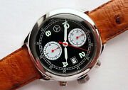 Mercedes Benz Amg Car Accessory Driver Aviator Swiss Automatic Chronograph Watch