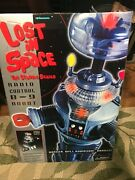 Trendmasters Nib1998 Lost In Space 2 Ft Remote, Sound, Lights, B-9 Robot Wow