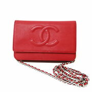 Shoulder Bag Chain Wallet Red Women And039s Fashionable Piti _58414