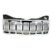 Capa 08-10 Gr. Cherokee Front Grill Grille Chrome W/black Insert Ch1200311