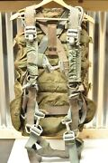 50/60and039s Era Us Military Parachute Pack And Harness - 1957 Pioneer / Sigmund Eisner