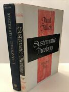 Paul Tillich -systematic Theology - Volumes 1 And 2 - Hardcover