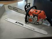 Stihl Ms500i 18 Fuel Injected Chainsaw W/extra 28 Bar Ml1052423