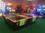 Dynamo Comet Air Hockey Table Coin Operated