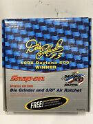 Snap On Special Edt Dale Earnhardt Die Grinder And 3/8 Air Ratchet And 124 Car