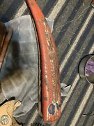 Antique Whippet Bike Tank Horn Bicycle Whippet Greyhound Vtg Red