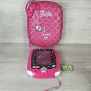 Leapfrog Leappad 2 Barbie Pink Learning System With Game And Case Tested And Working