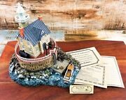 Harbour Lights Lighthouse 272 Race Rock New York Vintage Nautical Collectible
