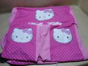 200423 Light Vehicle Installation Hello Kitty Seat Cover Front And Rear Set