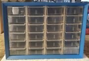 Arko Mills Nuts And Bolts Cabinet With 24 Drawers