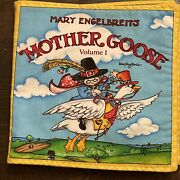 Mary Engelbreit Fabric Book Panel Mother Goose Vol 1 Completed