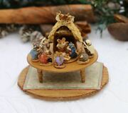 Wee Forest Folk Mini Nativity Figurine A-57 - Chris-mouse Pageant In Miniature