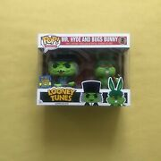 Funko Pop Mr. Hyde And Bugs Bunny Looney Tunes Sdcc Toy Tokyo 2017 Le850 Rare
