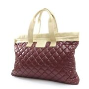 Kokokokoon Quilting Tote Bag Women And039s Bordeaux Champagn _58805