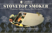 Original Camerons Stovetop Stainless Steel Smoker Professional New Open Box