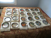 Set 24 Bradford Exchange Russian Legends Plates Collector Series All Different