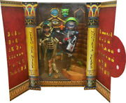 Monster High Super Rare Sdcc New Cleo And Ghoulia Mattel Exclusive Dolls,2 Pack