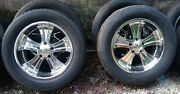Boss Motorsports Wheels 312 Series Good Condition W/ Tires Limited Release Rare