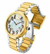 30833 Disney Mickey Mouse Steel / Gold Limited Edition Menand039s Watch