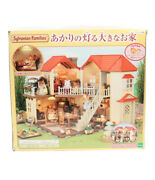 Doll Sylvanian Families Big House With Lights Store Epoch