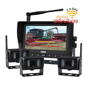 Hd 7 Tractor Cab Observation Digital Wireless Rear View Backup Cmos Camera