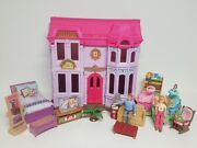 Fisher Price Loving Family Doll House Furniture Mother Father Baby Nursery Lot