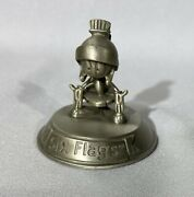 Marvin The Martian Six Flags Pewter Figure Warner Bros. 1995 Rare