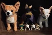 1998 Scooby-doo Pirate Hanna Barbera Disney Chihuahuas And Friends Plush Toys Lot