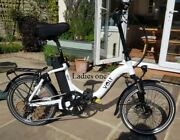 Two Volt Metro Electric Folding Bikes Menand039s And Unisex. Hardly Used Low Miles