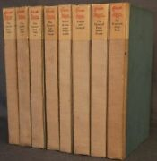 Shakespeare Head Press Works Of Geoffrey Chaucer 8 Vol 1st 1928 Hand-colored