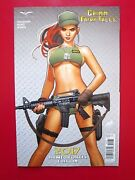 Grimm Fairy Tales 2017 Armed Forces Edition Nm Nakayama C-variant Zenescope