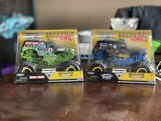 Monster Jam Grave Digger And Son Uva Digger Breaking World Records 124 Target Exc