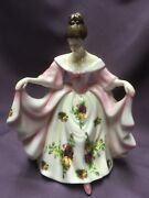 Royal Doulton Old Country Roses Pretty Ladies Figurine - Kathryn