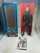 """Alien Poseable 18"""" Xenomorph Vintage Action Figure Box And Poster Kenner 1979"""