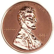 2019 W Us Mint Uncirculated Reverse Proof Lincoln 1 Cent Penny Free Shipping