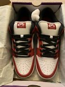 Nike Sb Dunk Low Pro J-pack Chicago Bq6817 600 Size 12 Ds 100 Authentic